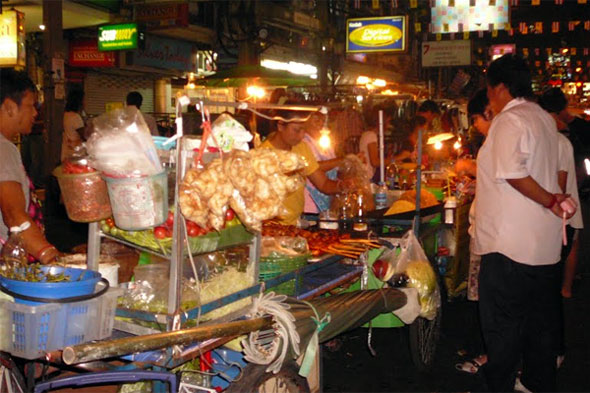 Khao San Road Food Stall