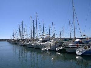 Yachts at Fuengirola