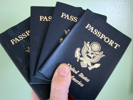 Check the expiration date on your passport.