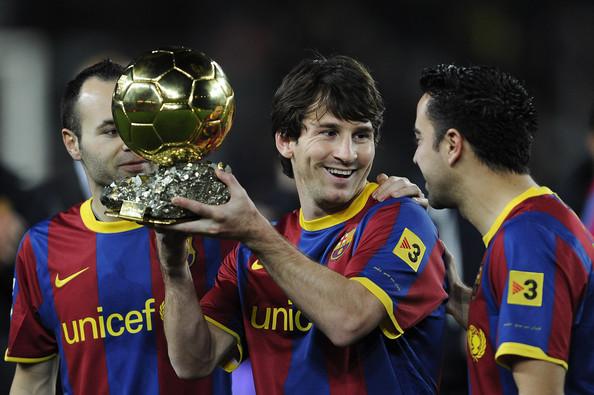 Xavi, Messi & Iniesta - Barcelona FC