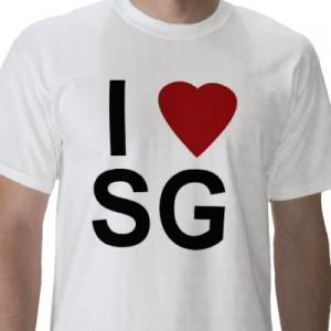I Heart Singapore T-Shirt