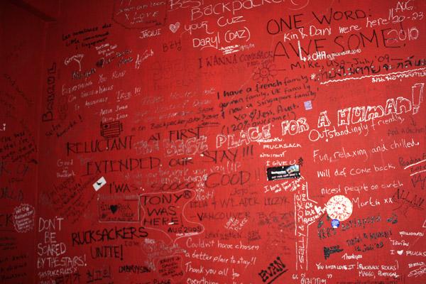 Rucksack Inn Wall