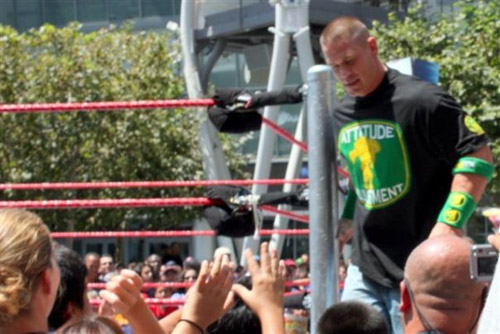 John Cena at WWE SummerSlam Axxess