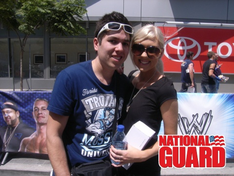 Us at Summerslam Axxess