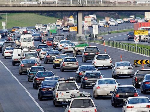 Monash Freeway Traffic