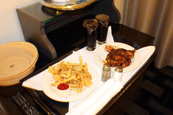 Room Service at the Padre Hotel