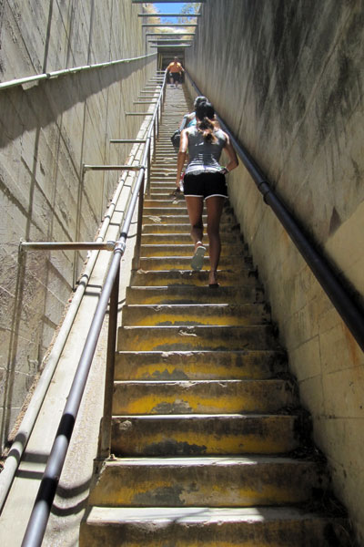 The 99 Steps at Diamond Head Monument