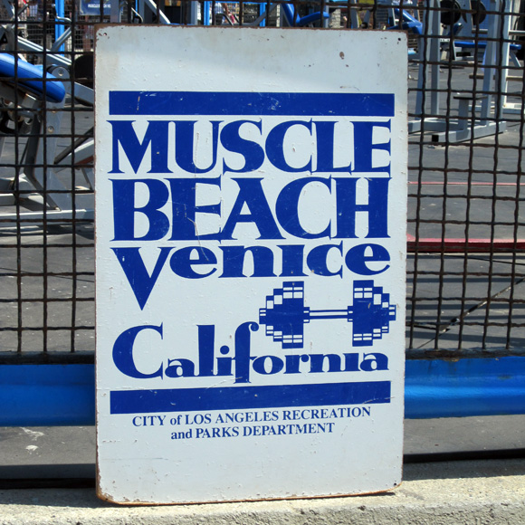 los angeles muscle beach