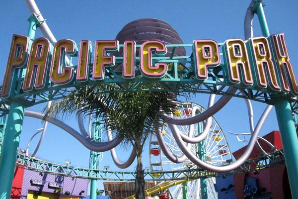 Pacific Park Entrance