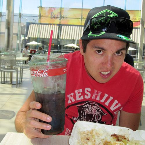A Huge Soda