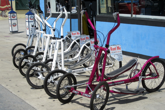 Streetsiders - Elliptical Cross Trainers on Wheels