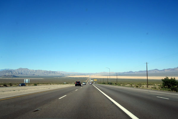 The road to Las Vegas.