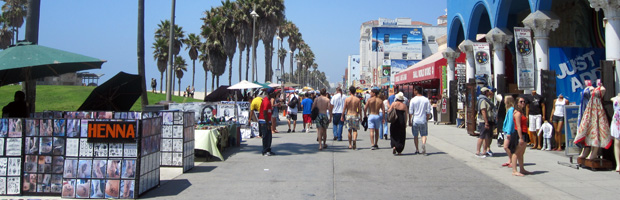 Road Trip Day 10: The Interesting Venice Beach
