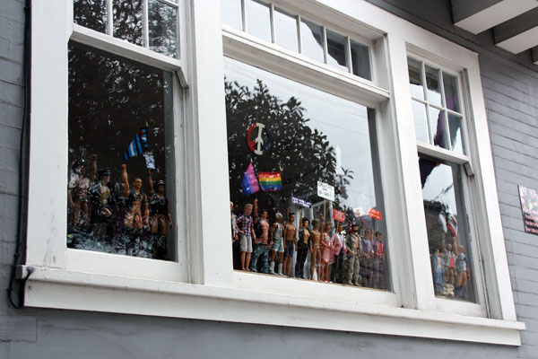 Ken Dolls in a Window The Castro
