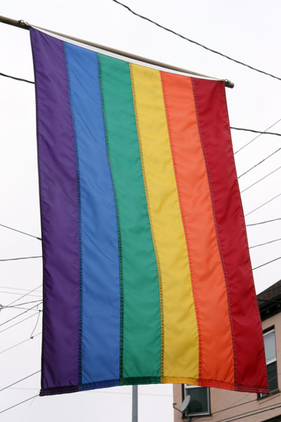 Rainbow Flag in The Castro