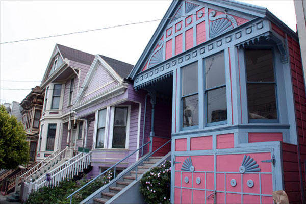 Queen Anne Houses in San Francisco