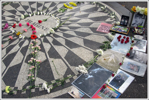Imagine Mosaic - Strawberry Fields Central Park