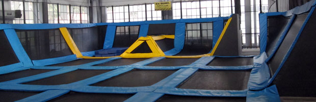 A Trampoline Workout Class in San Francisco