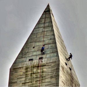 Engineers on the Washington Monument