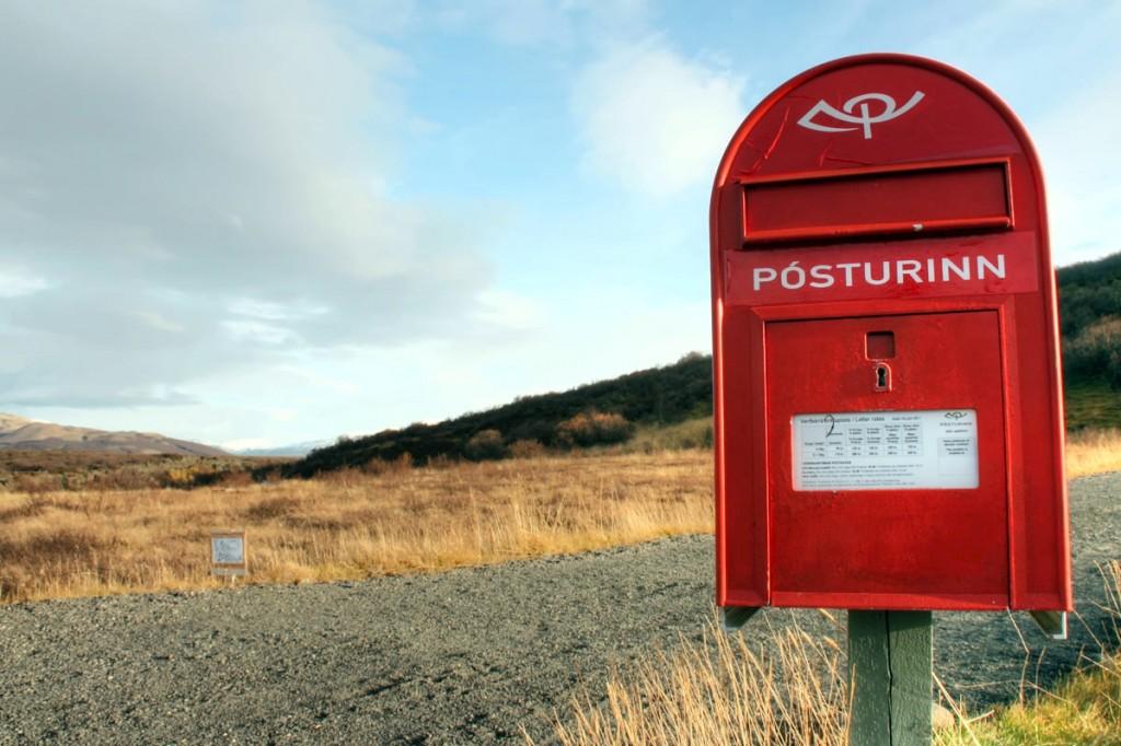 Iceland Postbox
