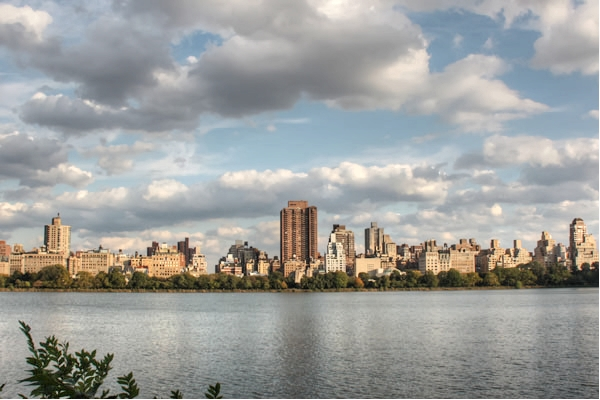 View over Jacqueline Kennedy Onassis Reservoir