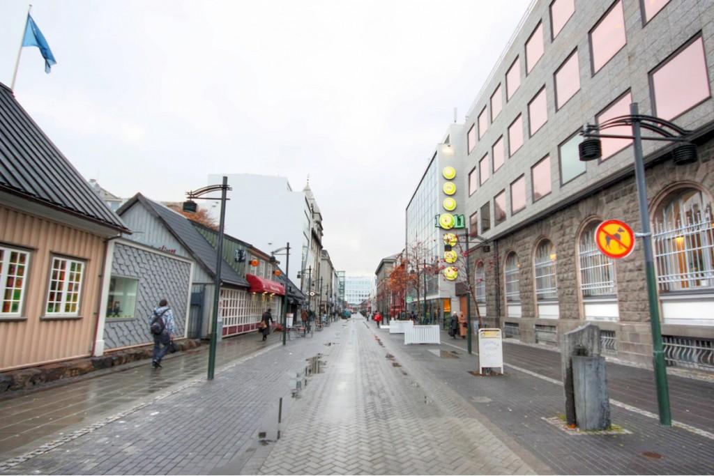 Streets of Reykjavik
