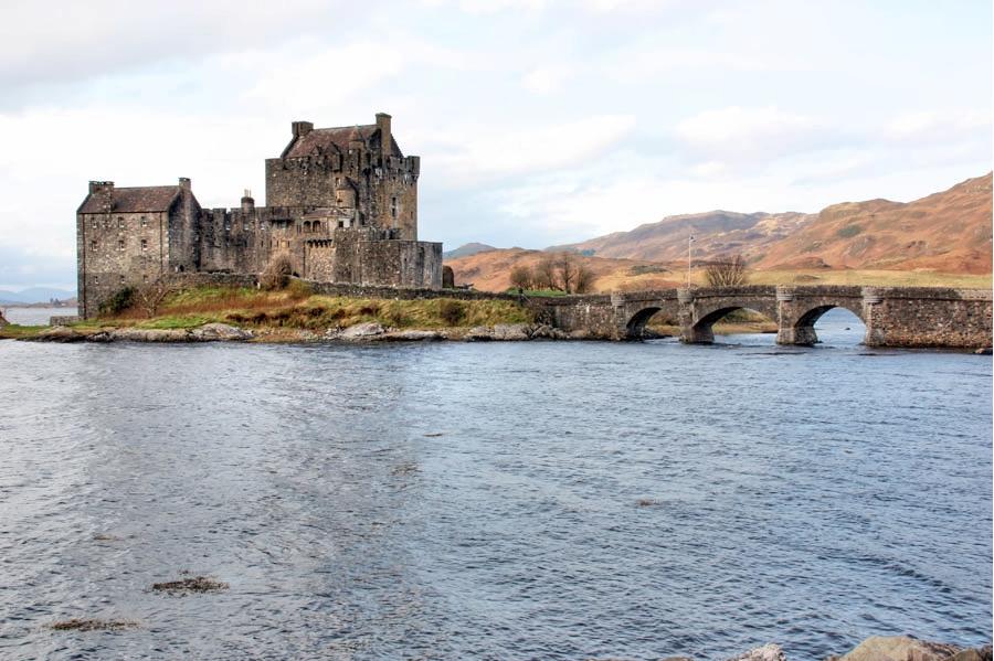 The spectacular Eilean Donan Castle