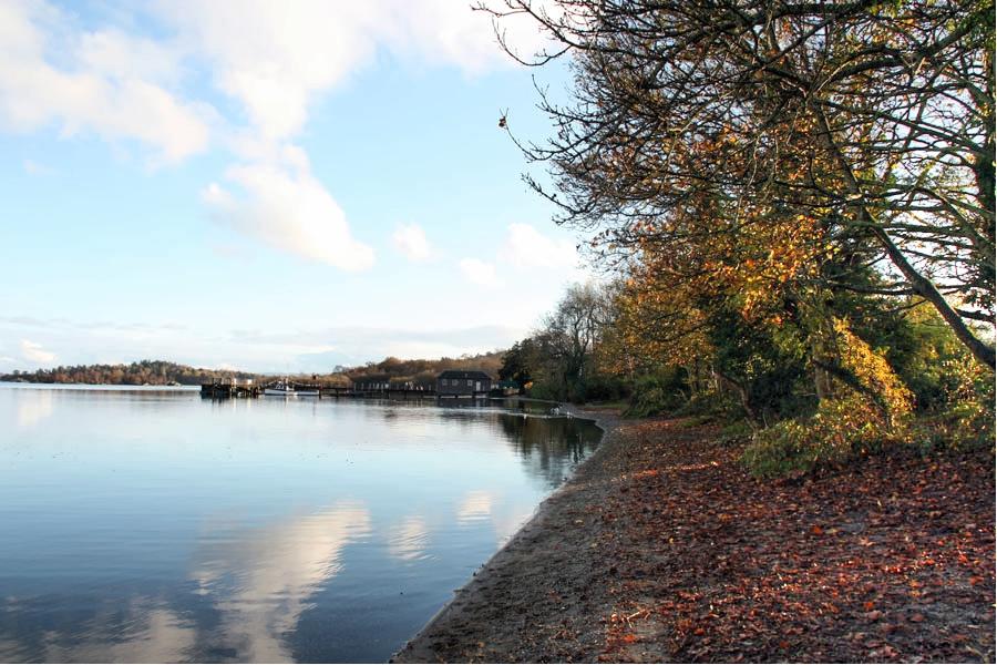 Loch Lomond looking towards Luss Pier