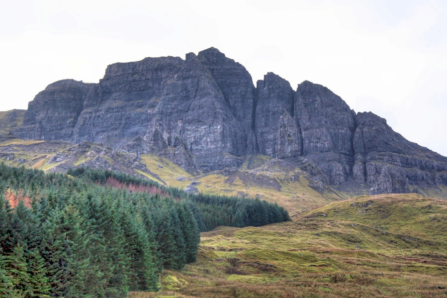 The dramatic landscape of The Storr