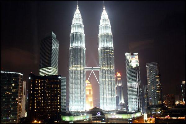 Petronas Towers Kuala Lumpur from Traders Hotel