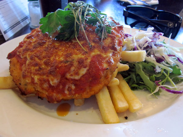 My second chicken parma of the week!