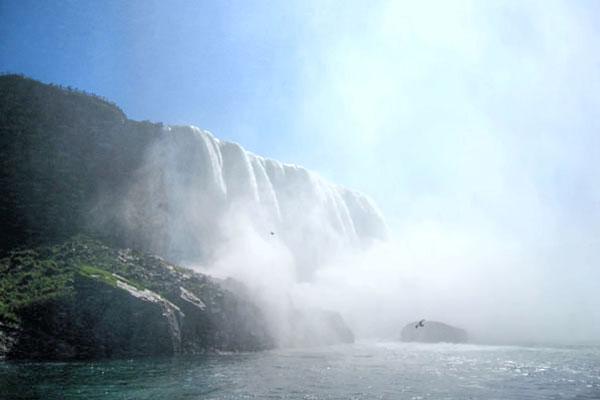 Up close with Niagara Falls