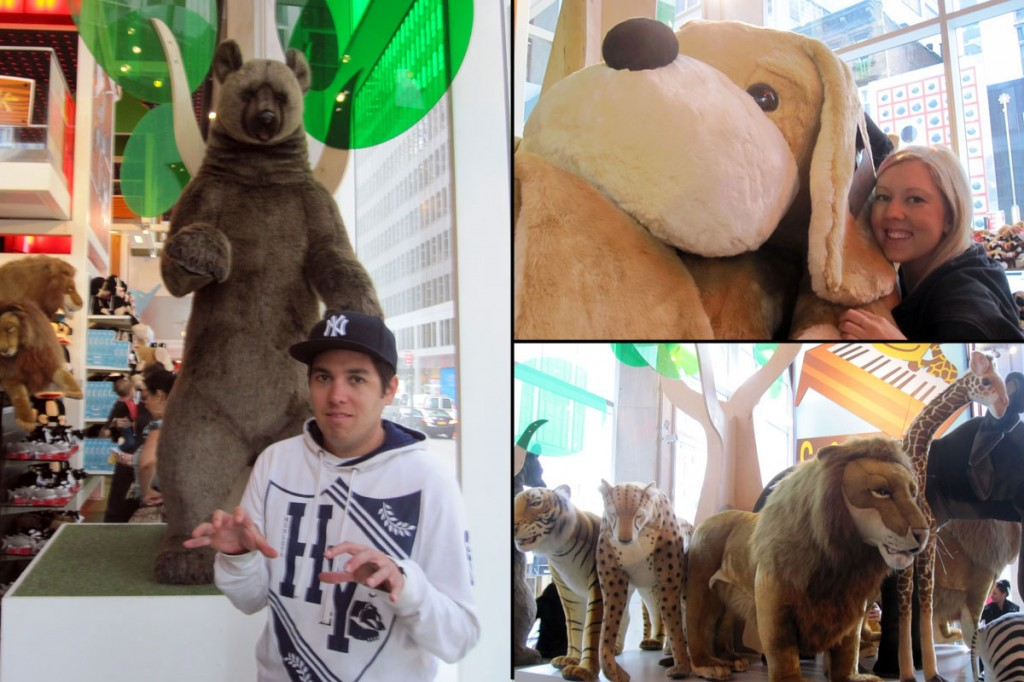 Stuffed Animals at FAO Schwarz