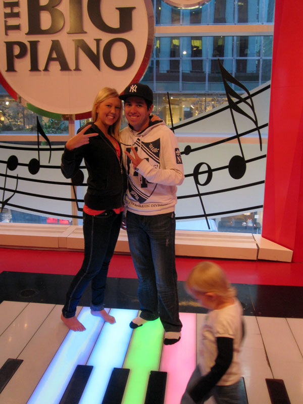 The Big Piano at FAO Schwarz