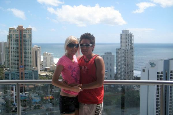 Us in Surfers Paradise in 2008