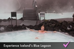 Experience the Blue Lagoon geothermal spa in Iceland