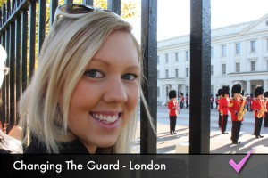 Watch the Changing the Guard ceremony at Buckingham Palace