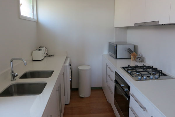 Kitchen at Balmain Wharf Apartments