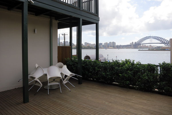The view from Balmain Wharf Apartments #4
