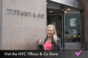Visit the New York City Tiffany & Co Store