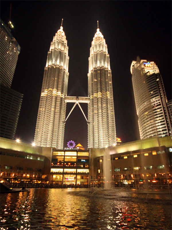 Petronas Towers from KLCC Park