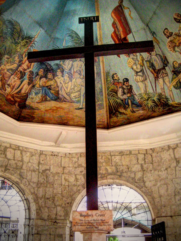 Magellan's Cross in Cebu, Philippines