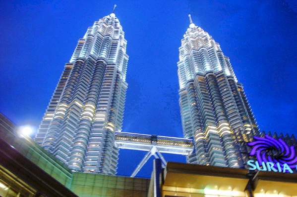 Petronas Towers in 2008