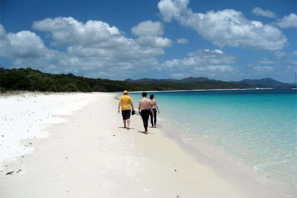 Whitehaven Beach - something to look forward to!