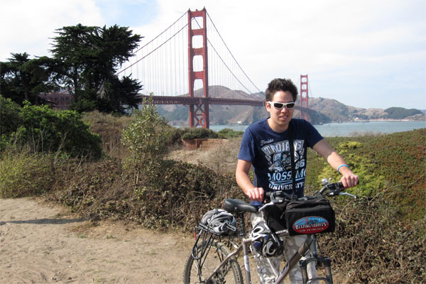 Bike Across Golden Gate Bridge