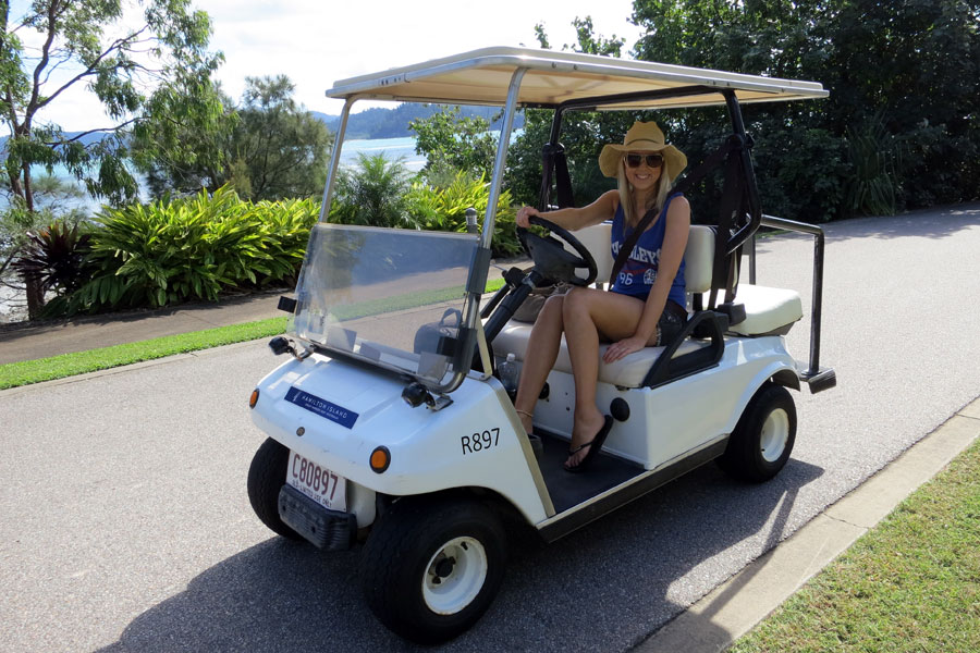Hamilton Island Golf Buggy Hire