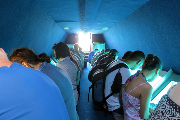Semi-submersible coral viewer tours at Reefworld