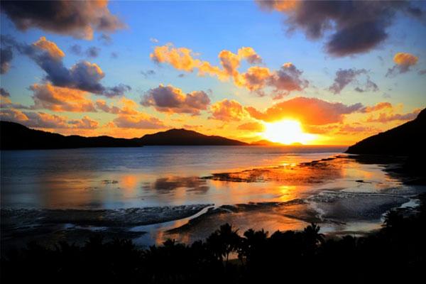 Sunrise at Catseye Beach