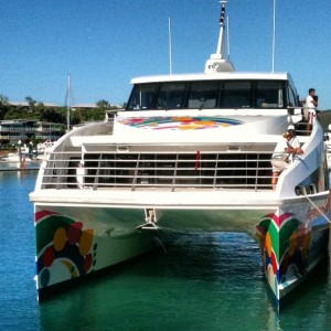 Fantasea Boat to Reefworld