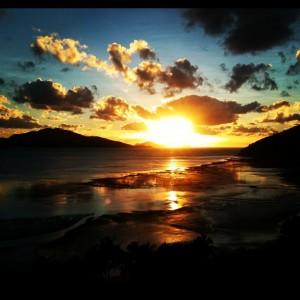 Perfect Sunrise over Catseye Beach